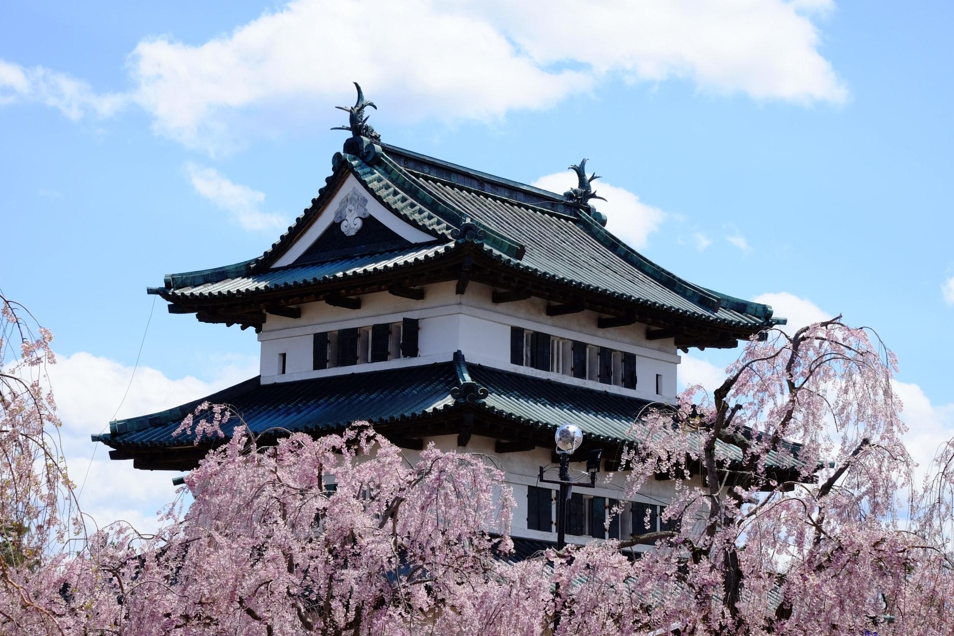 Hirosaki Cherry Blossom Festival In Aomori Beautiful Spring